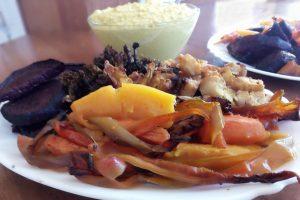 Хрупкави и вкусни запечени зеленчуци