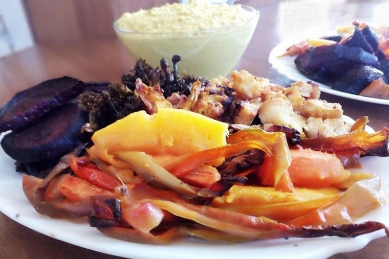 Запечени зеленчуци на фурна
