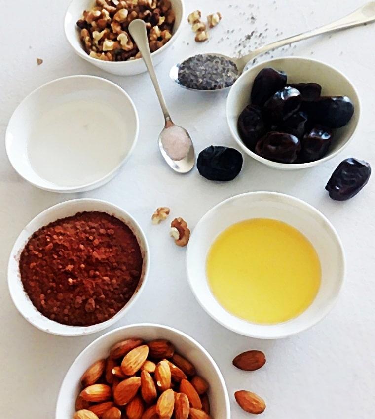съставки за приготвяне на рецептата