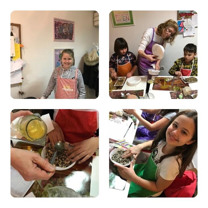 Децата творят в Кулинарната работилница