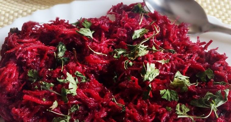 Салата от червено цвекло, моркови и целина – заряд от витамини, минерали и антиоксиданти