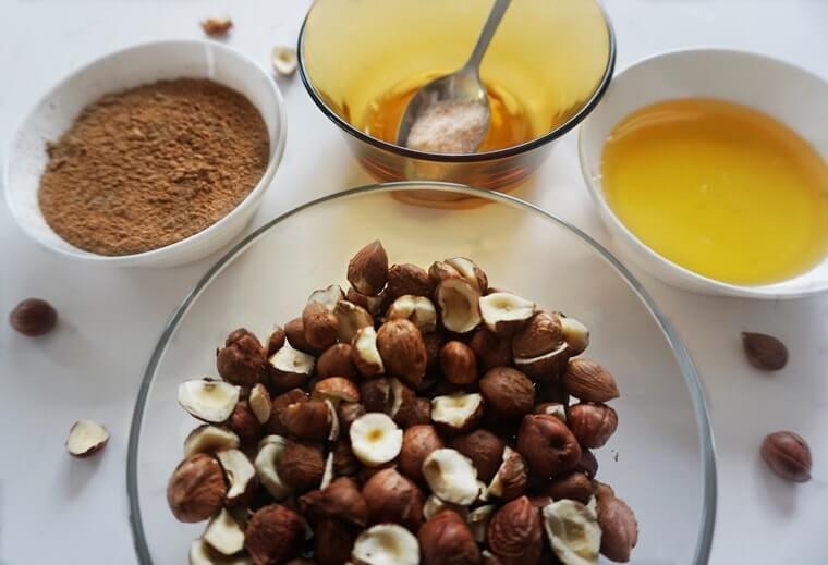 Съставки за Nutella