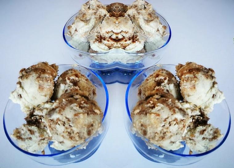Ментов сладолед с брауни