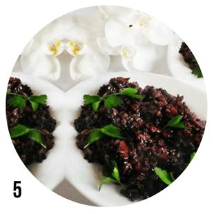 Черният ориз - ястието на императорите
