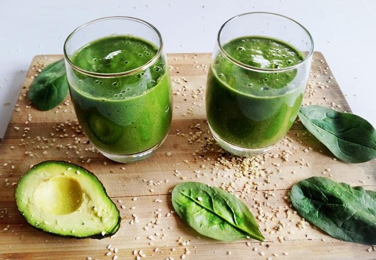 Зелено протеиново смути само за 5 минути