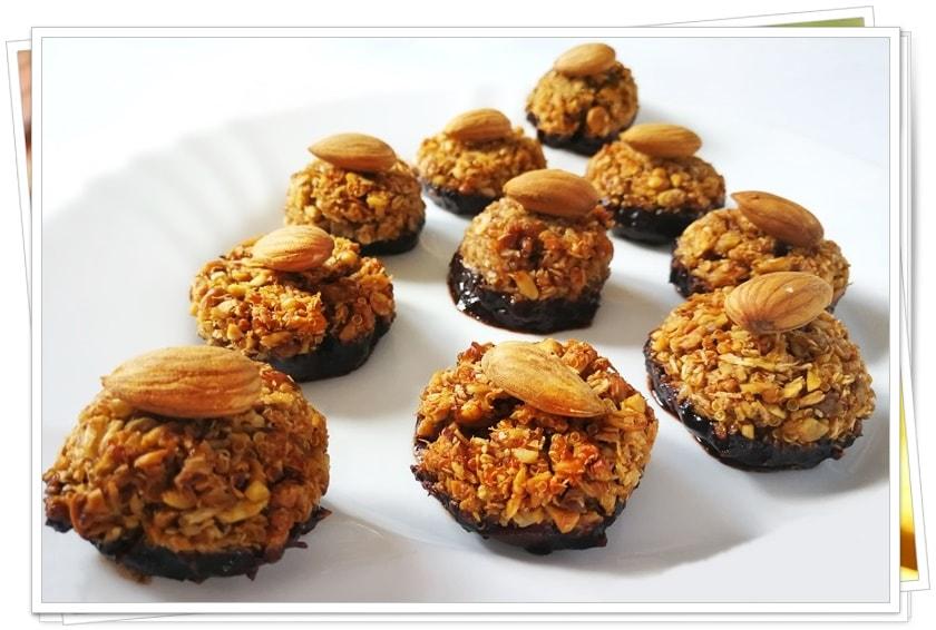 Ореховки с кокос и аквафаба