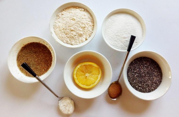 Протеинови палачинки с чиа семена - съставки