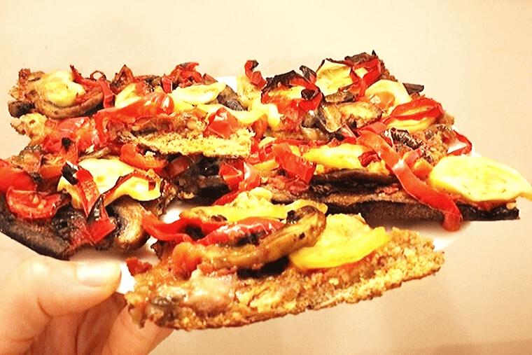 Пица с домашно тесто и чеснов сос от кашу 1