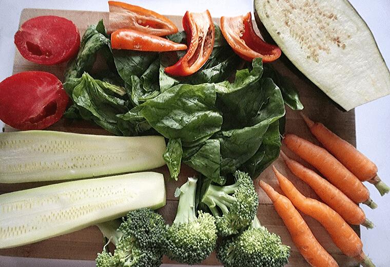 Спанак на фурна със зеленчуци 3