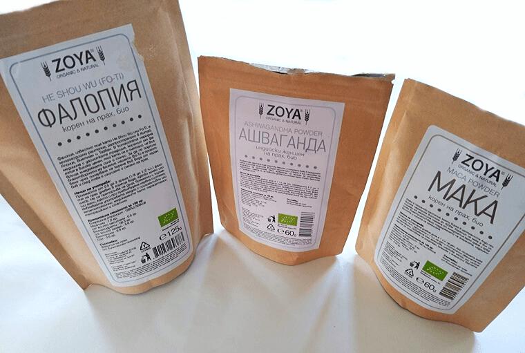Ашваганда, мака и фалопия за шоколадова напитка с адаптогени