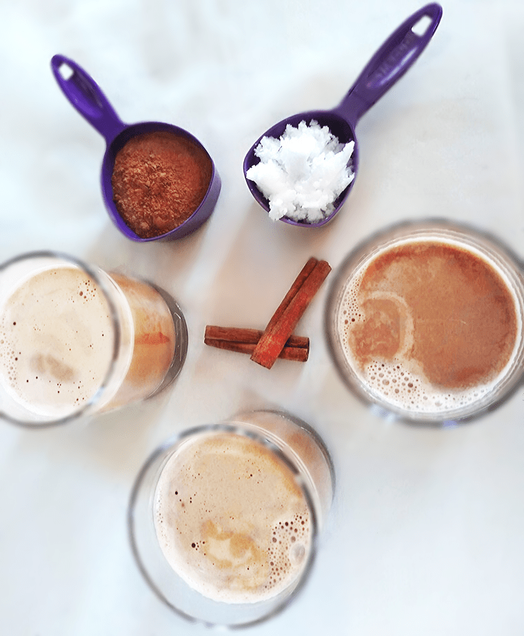 Топла какаова напитка с адаптогени