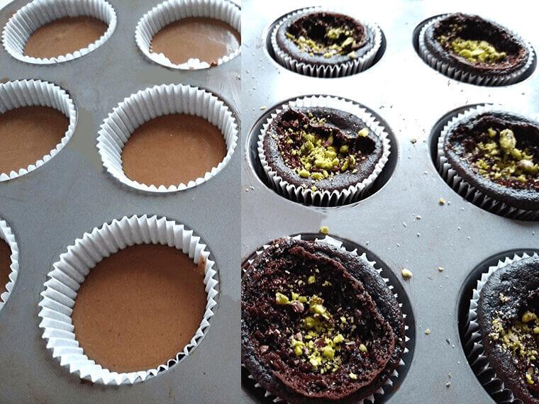 Готови веган шоколадови мъфини