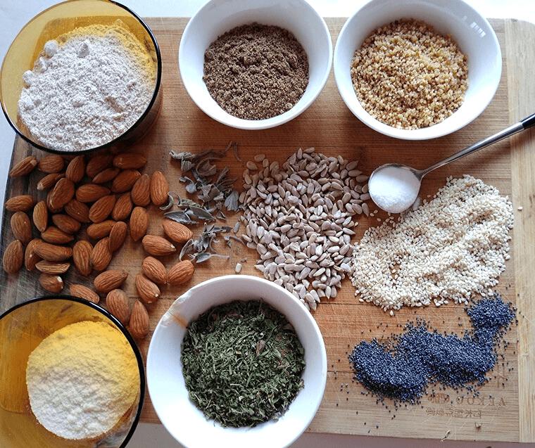 Содена питка с ароматни подправки - всички съставки