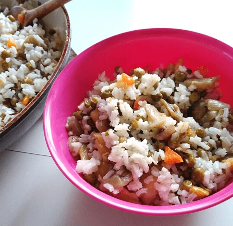 Ароматен ориз със зеленчуци - здравословни рецепти