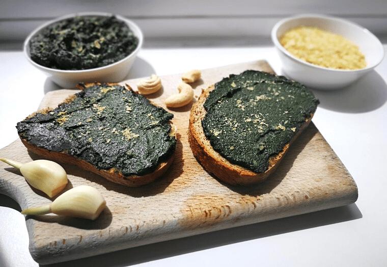 Лесно веган песто от коприва – чудесно пролетно ястие