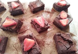 Брауни с черен боб – веган, с богат какаов аромат