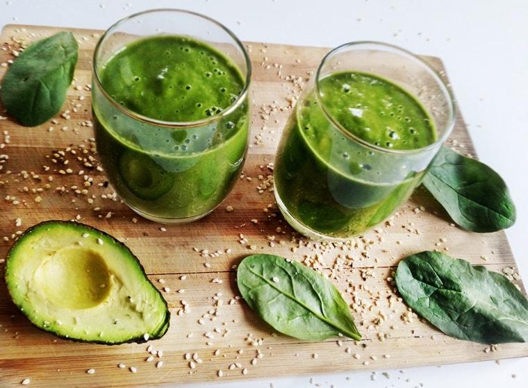 15 рецепти за лятото - Зелено протеиново смути
