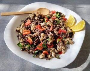 Read more about the article Вкусно ястие с печен карфиол и черна леща