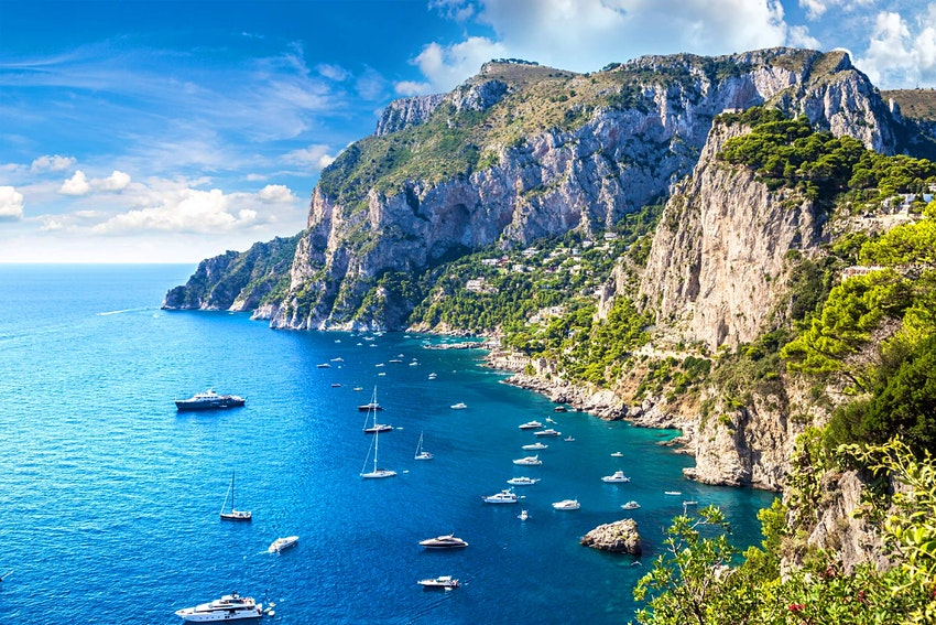 остров Капри