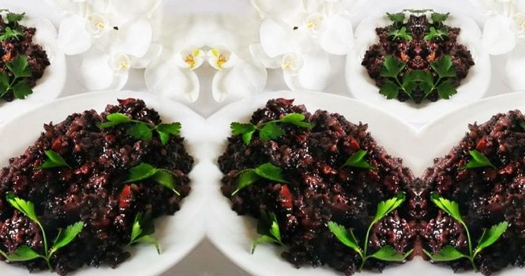 Вкусен черен ориз - ястието на императорите