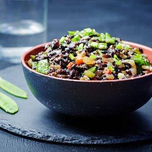 Черният ориз – императорското ястие