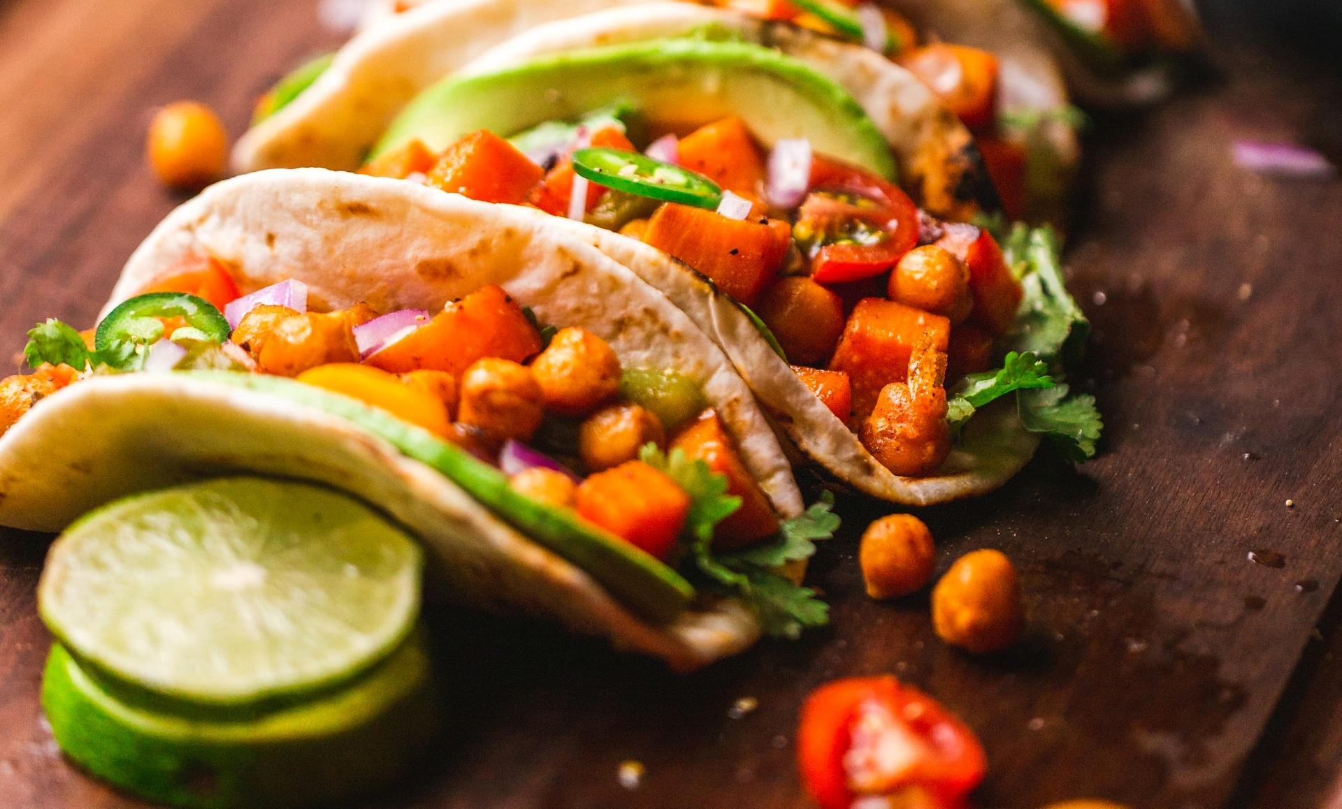 Мексикански такоси за вечеря