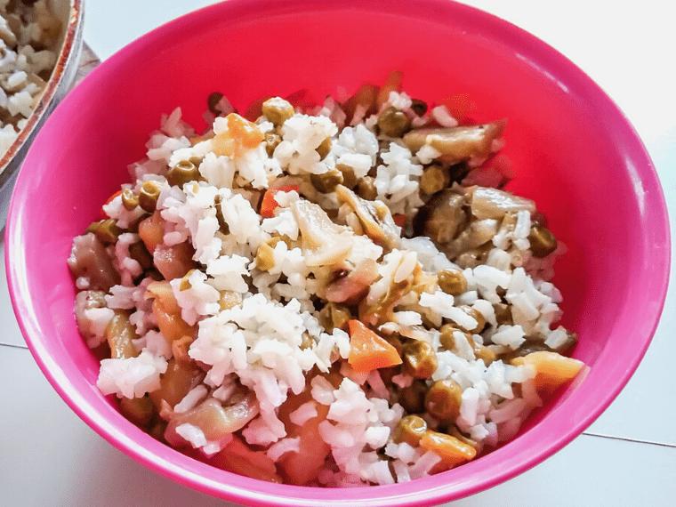 ароматен ориз със зеленчуци