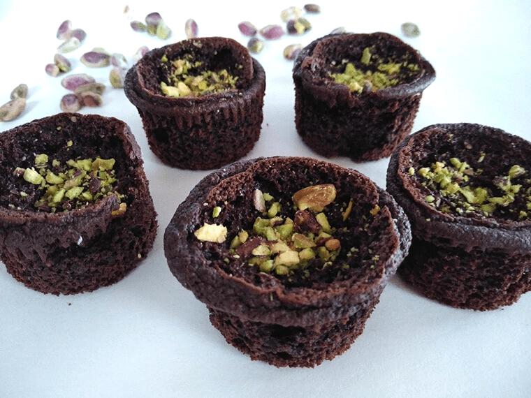 Шоколадови мъфини с овесено брашно