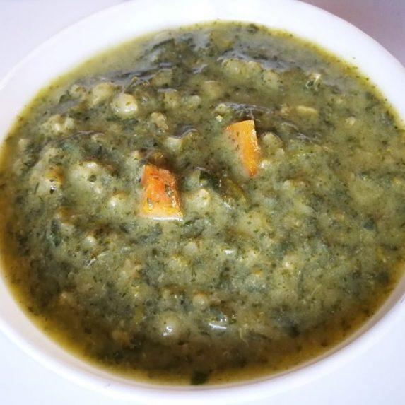 Пролетна супа от коприва